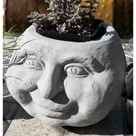 Garden Face Planter, Natural