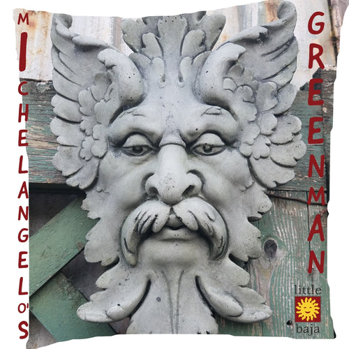 Wall Decoration | Michelangelo's Greenman Relief Replica, Concrete