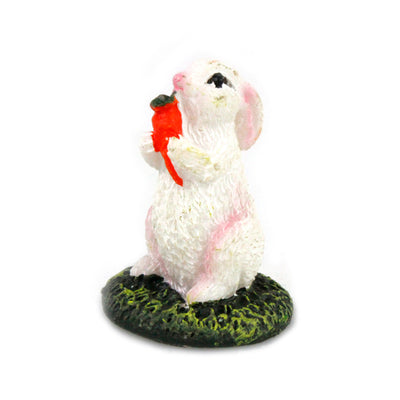 Fairy Garden Miniature White Rabbit