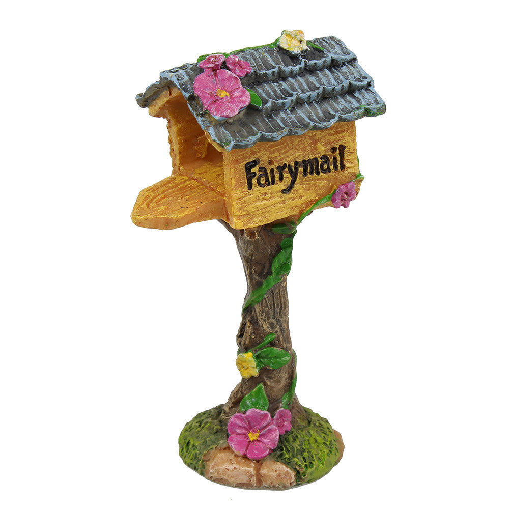 Fairy mail fairy garden mailbox fairy garden supplies