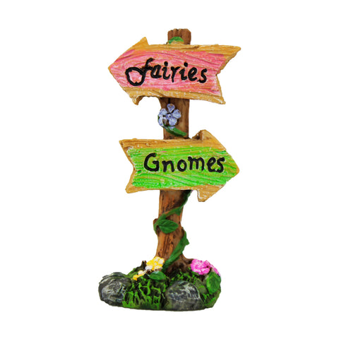 Fairies & Gnomes Sign