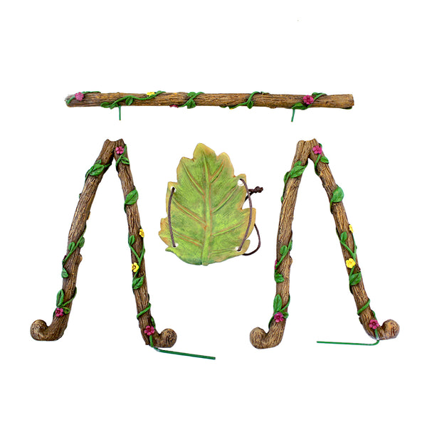 Leaf Swing Set