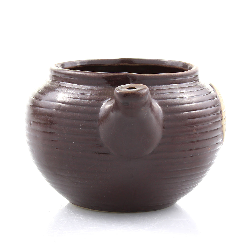 Brown Ceramic Teapot Pot With Small Succulent Live Indoor Plant Nw Wholesaler