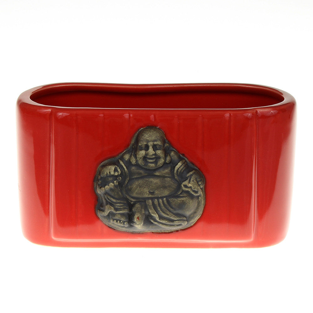 Red Buddha Pot