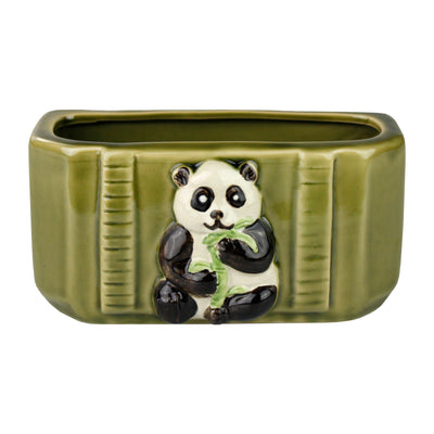 Rectangle Panda On Pot