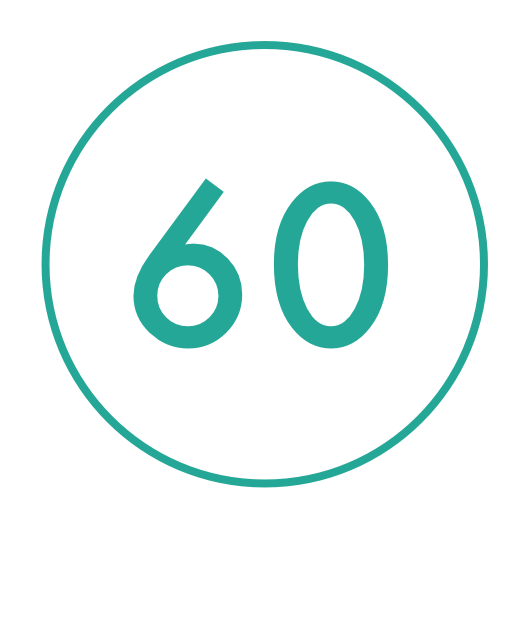 lasts up to 60 wears