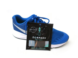 Zorpads blue sneakers