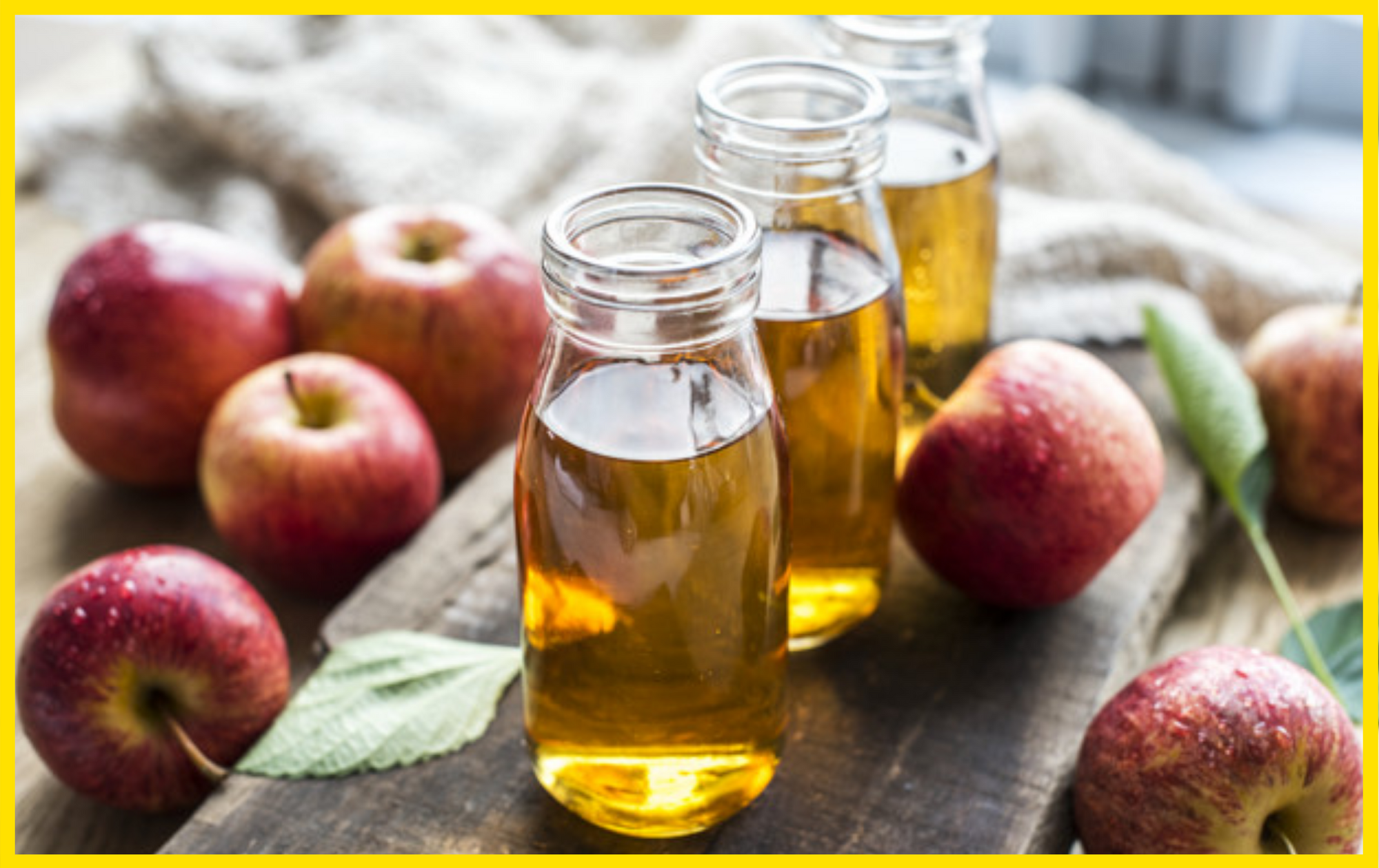 Here's why ACV is considered the best fat burning drink