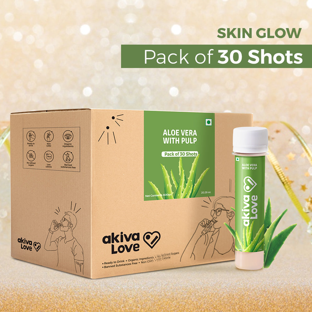 Aloe Vera Skin Health Shots - 30 shots | 30 days [Subscription Offer]