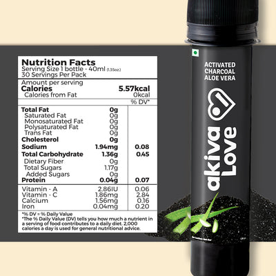 Activated Charcoal Gut Cleanse Shots