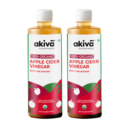 Apple Cider Vinegar With Mother - 500 ml x 2