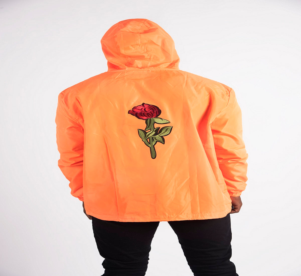 Fall Rose Windbreaker (Plus Size available)
