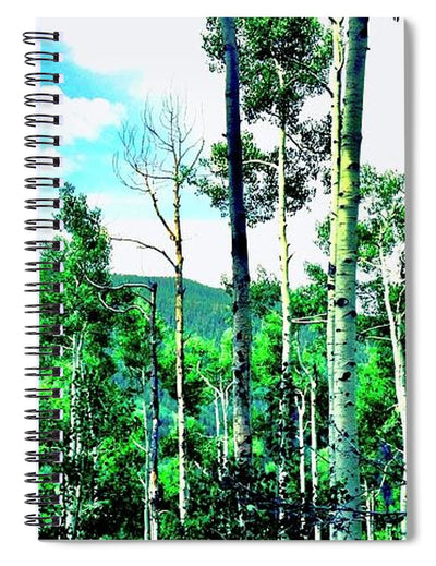 Aspen Forest - Spiral Notebook