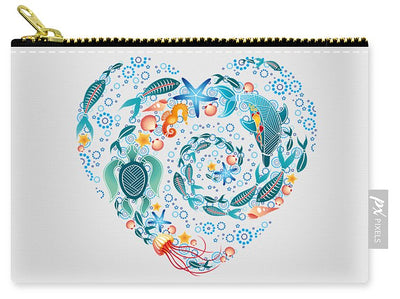 Coral Reef Love - Carry-All Pouch