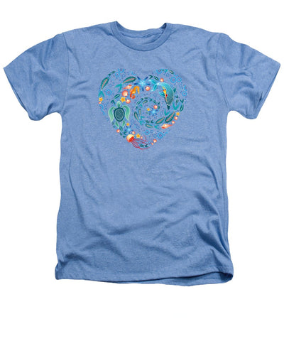 Coral Reef Love - Heathers T-Shirt