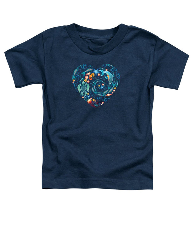 Coral Reef Love - Toddler T-Shirt