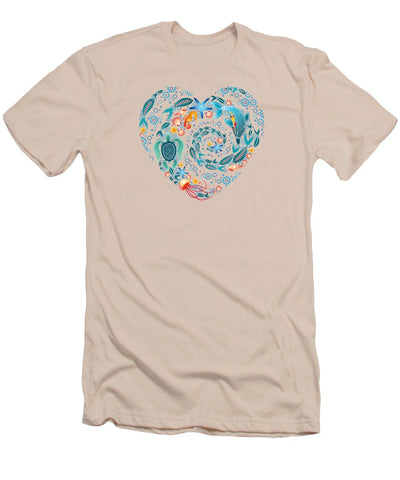 Coral Reef Love - Men's T-Shirt (Athletic Fit)