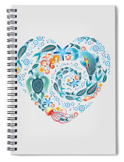 Coral Reef Love - Spiral Notebook