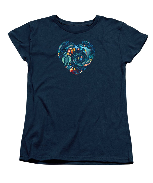 Coral Reef Love - Women's T-Shirt (Standard Fit)