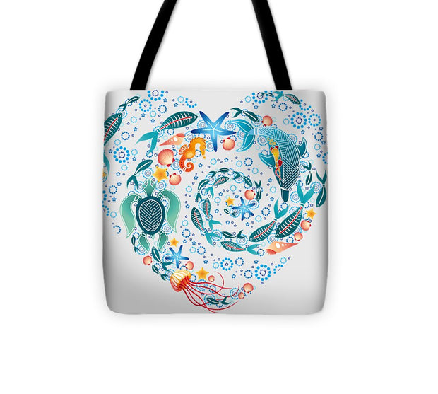 Coral Reef Love - Tote Bag