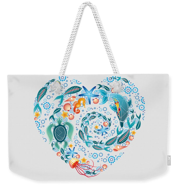 Coral Reef Love - Weekender Tote Bag