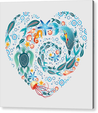 Coral Reef Love - Acrylic Print