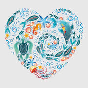 Coral Reef Love - Art Print