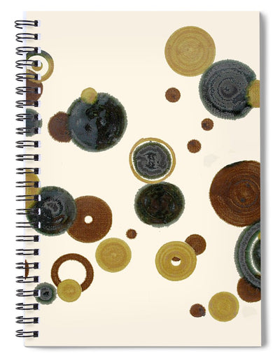 Crop Circles - Spiral Notebook