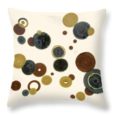 Crop Circles - Throw Pillow