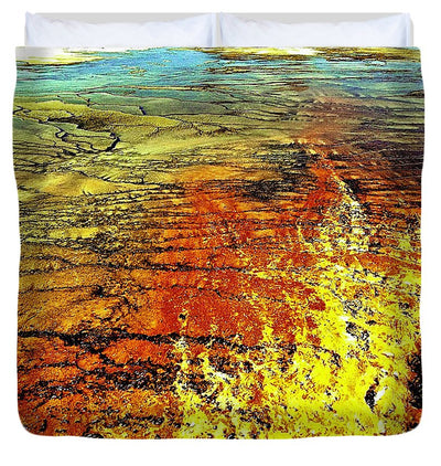 Fire And Water - Duvet Cover