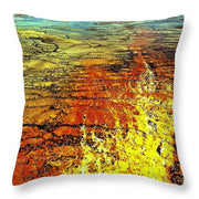 Fire And Water - Throw Pillow