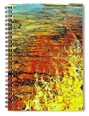 Fire And Water - Spiral Notebook