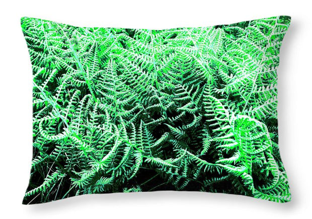 Fractal Ferns - Throw Pillow