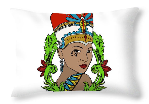 Nefertiti - Throw Pillow