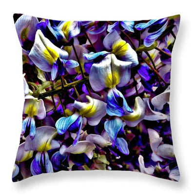 Purple Flower - Throw Pillow