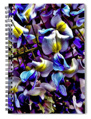 Purple Flower - Spiral Notebook