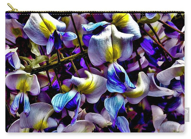 Purple Flower - Carry-All Pouch