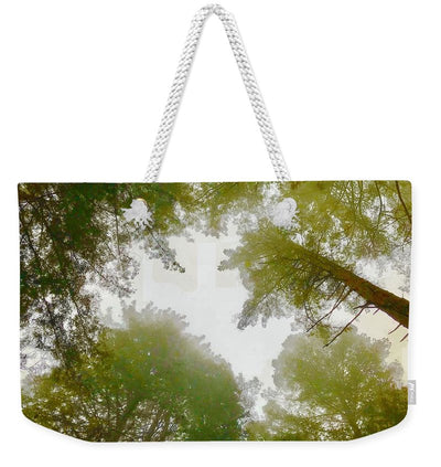 Redwood Fog - Weekender Tote Bag