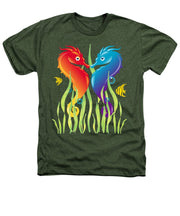 Seahorse Love - Heathers T-Shirt