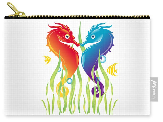 Seahorse Love - Carry-All Pouch