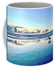 Teal Contemplation - Mug