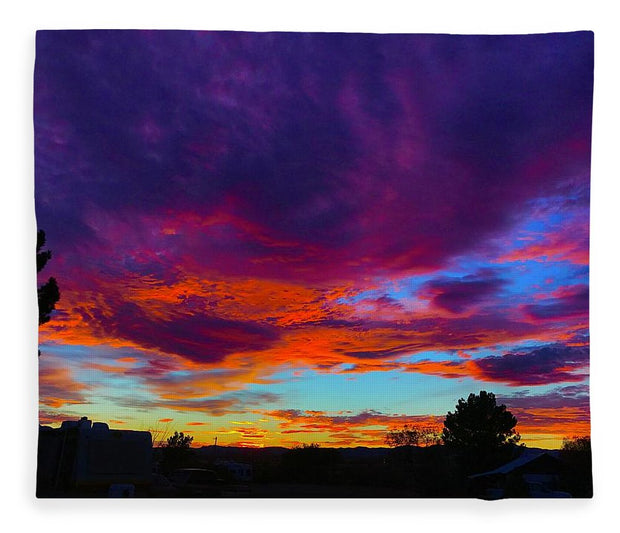 Rainbow Sunset - Blanket