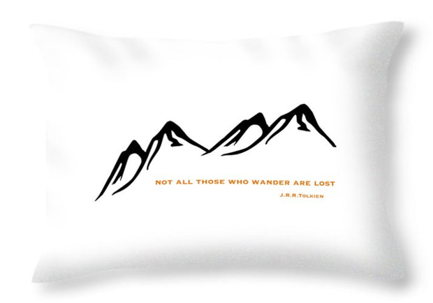Wander Mountain - Throw Pillow