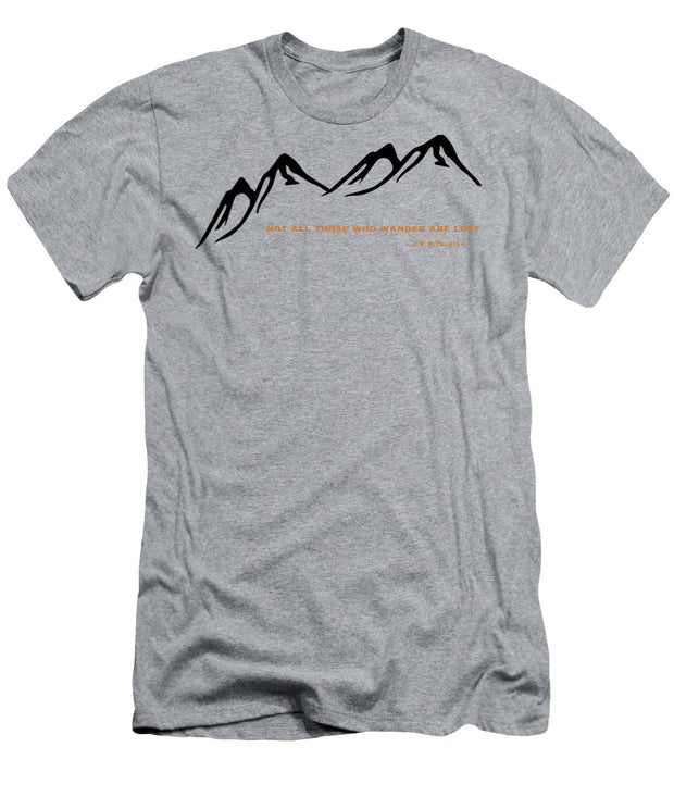 Wander Mountain - Men's T-Shirt (Athletic Fit)