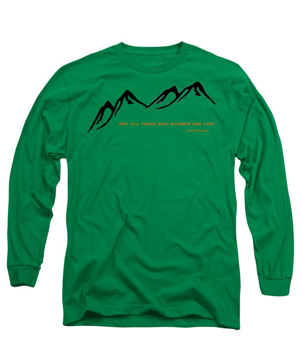 Wander Mountain - Long Sleeve T-Shirt