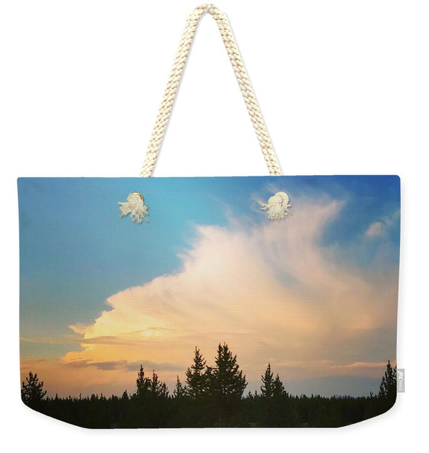 Whispy Clouds - Weekender Tote Bag