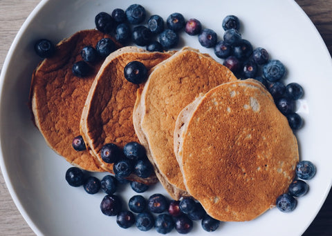 Healthy Breakfast - Gluten Free - Banana Pancakes
