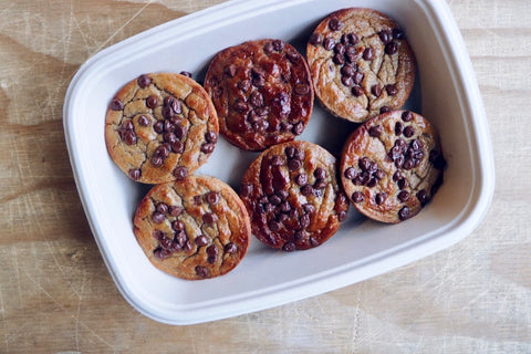 Gluten Free Snack - Banana Chocolate Chip Muffins