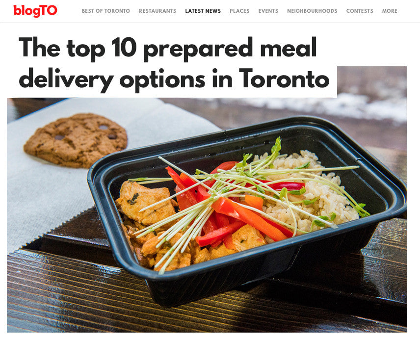 Were in blogtos top 10 honey bee meals were so happy to be considered one of torontos top meal delivery services big thanks to blogto for sharing the honey bee love forumfinder Images