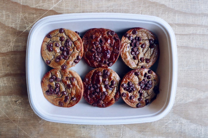 Banana Chocolate Chip Muffins (Wednesday)